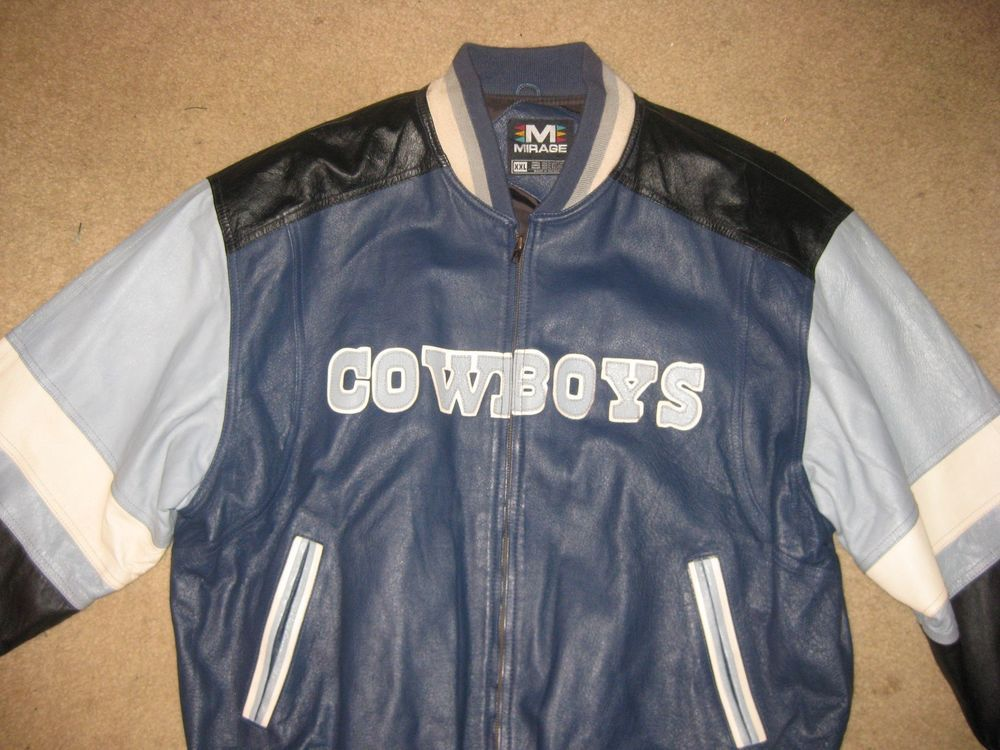 quality design 62939 fdf56 Dallas Cowboys Vintage Leather Jacket from $149.99 | DALLAS ...