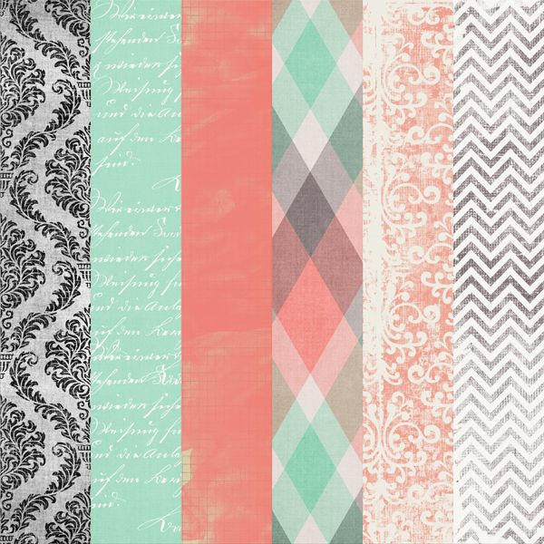 """Sweet Pea"" freebie papers."