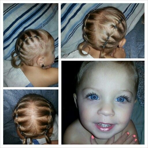 Hairstyles For Babies 22 more fun and creative toddler hairstyles Cute Hairstyles For Baby Girl Google Search