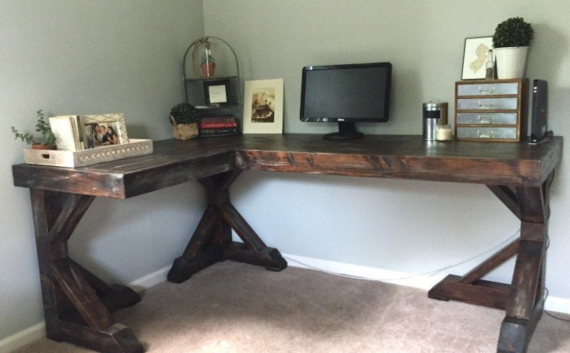 how to build a desk for 20 bonus 5 cheap diy desk plans ideas
