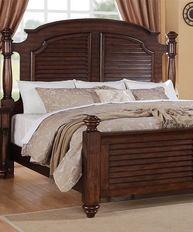 Another Great Find On Zulily Key West King Post Bed Frame By Elements International Zulilyfinds
