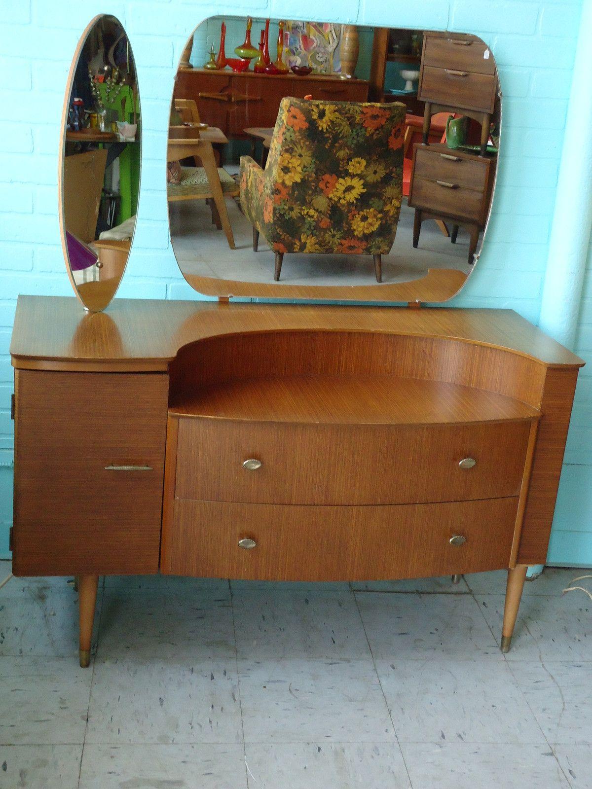 Best Mid Century Danish Modern Dresser Chest Cabinet Vanity W 400 x 300