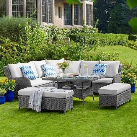 Shenstone Casual Dining Garden Furniture Set | Wyevale Garden Centres