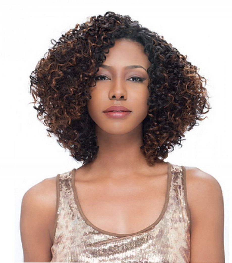 2 amazing ideas of short curly weave hairstyles for black