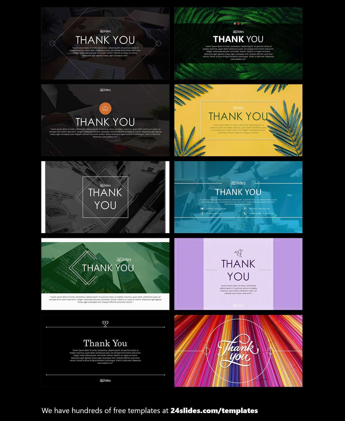 15 Creative Powerpoint Templates