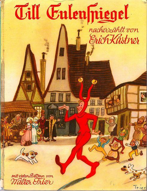 Erich Kastner Eulenspiegel Illustr W Trier 1965