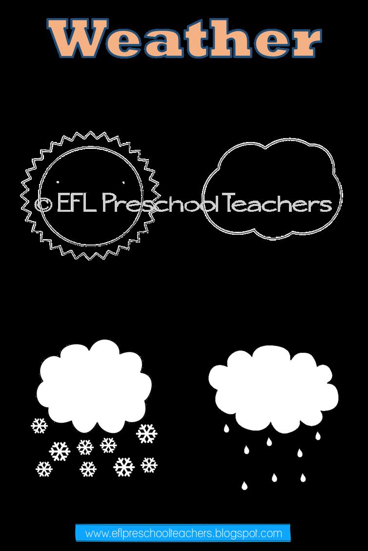 Weather Activities For Kindergarten Efl Weather Worksheets Weather Words Weather Theme [ 1129 x 754 Pixel ]