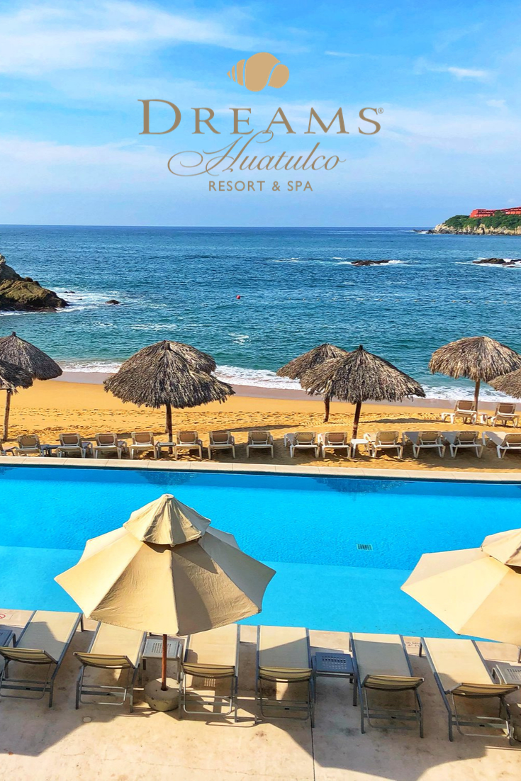 From Pool To Beach You Ll Feel Right At Home At Dreams Huatulco Dreams Resorts All Inclusive Beach Resorts Resort