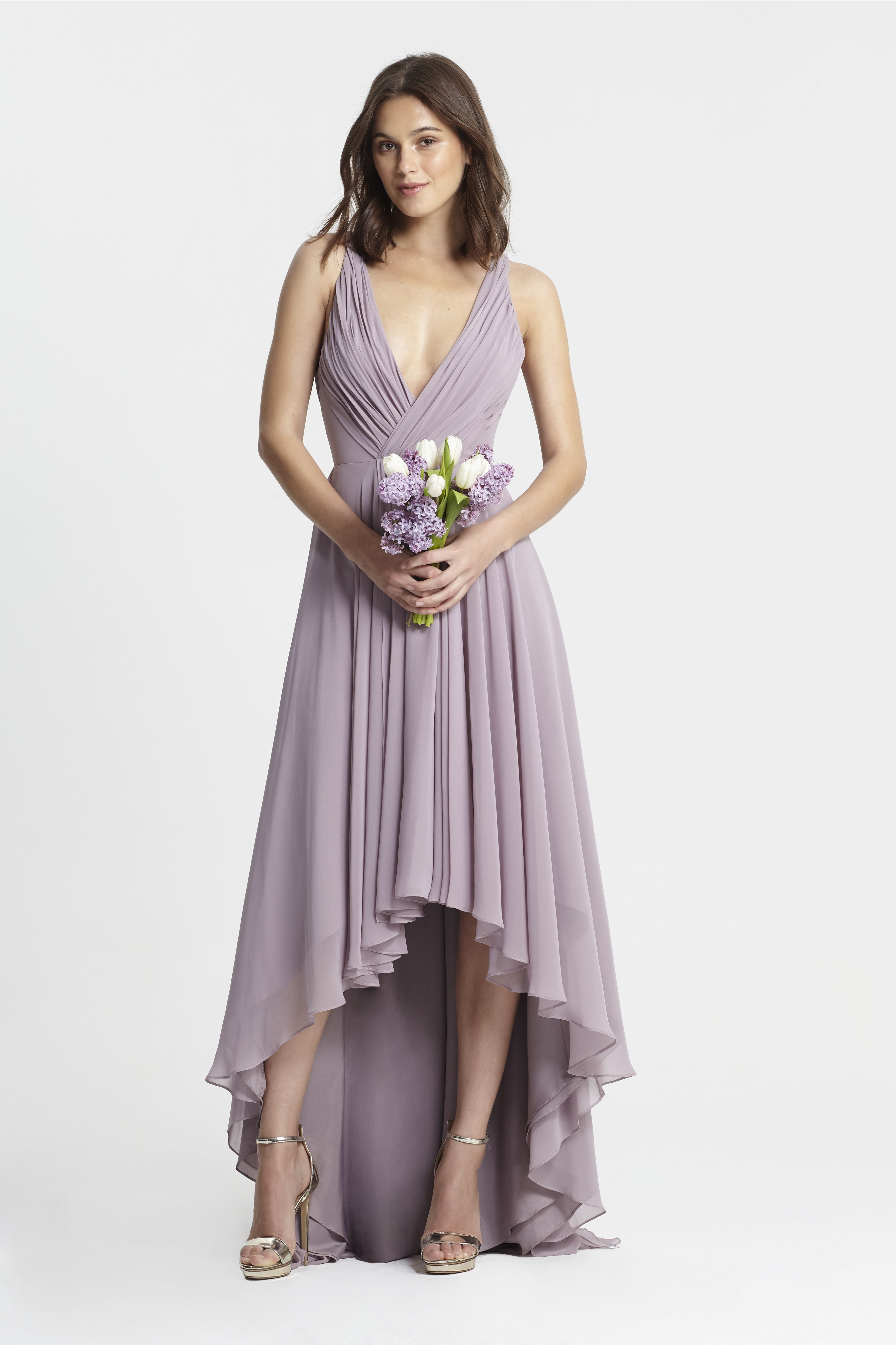 Monique lhuillier spring 2017 bridesmaids style 450378 lilac cheap name brand bridesmaid dresses ombrellifo Choice Image