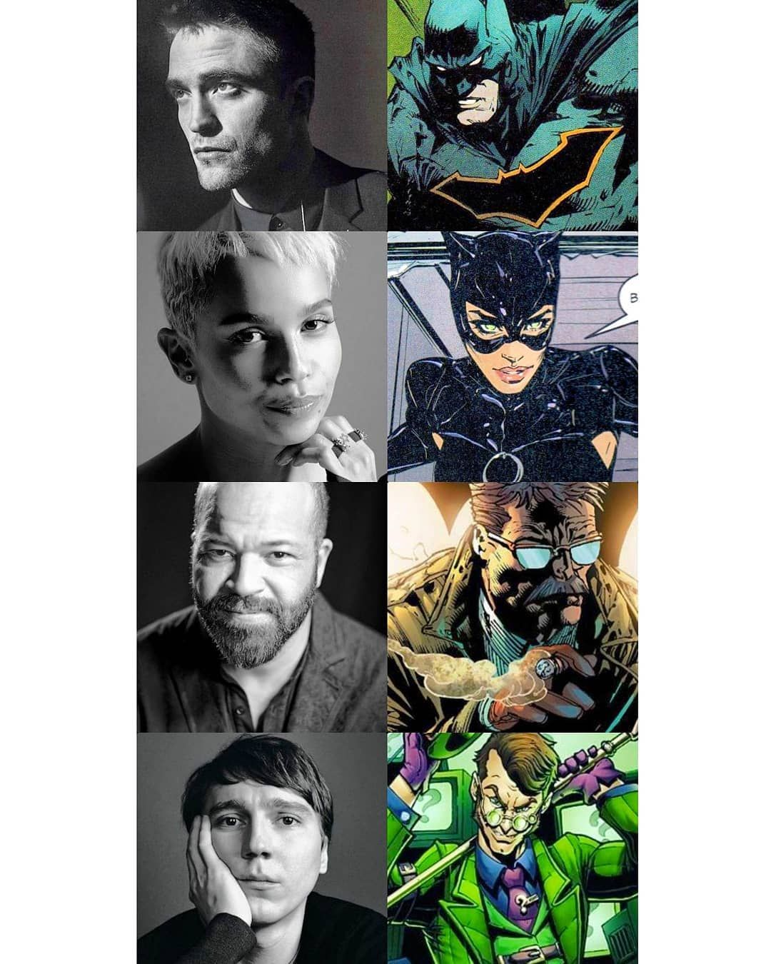 The cast (SO FAR) for 'The Batman' _ And yes, Paul Dano