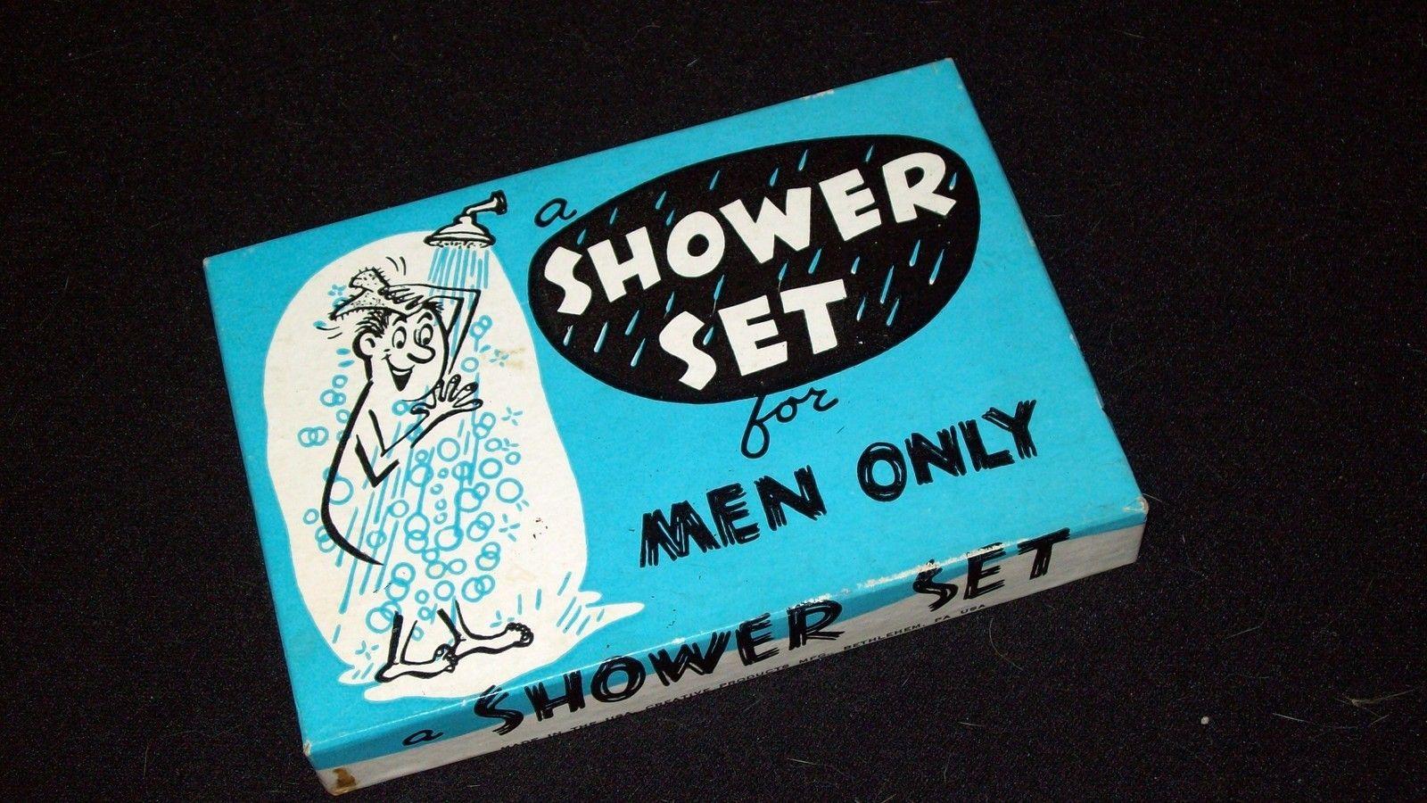 Vintage Novelty Gift - For Men - Shower Set - Slightly Risque - Funny!