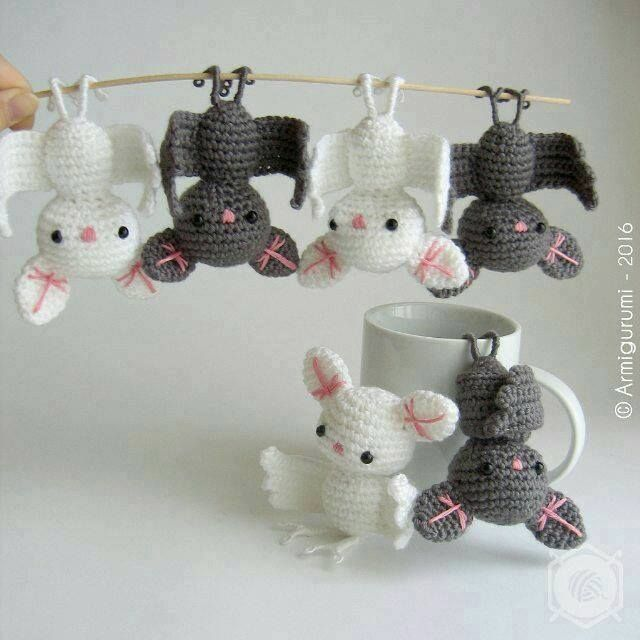 Widely Admired Amigurumi Bat Will Get You Lots Of Smiles | Crochet ...