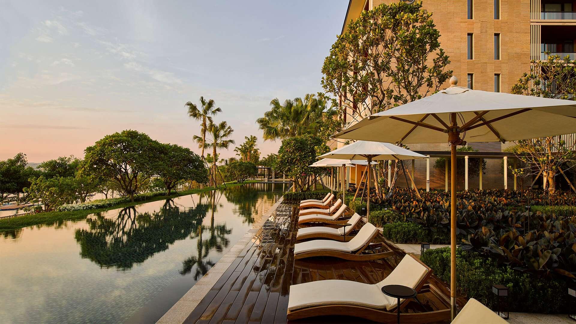 The Pushang Gallery Xiamen Urban Resort Concepts Outdoor Restaurant Spa Rooms Hotel