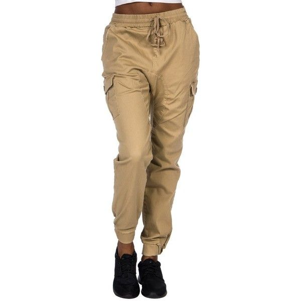b05dfa6851fb Essentials Twill Cargo Jogger Pant ( 26) ❤ liked on Polyvore featuring  pants