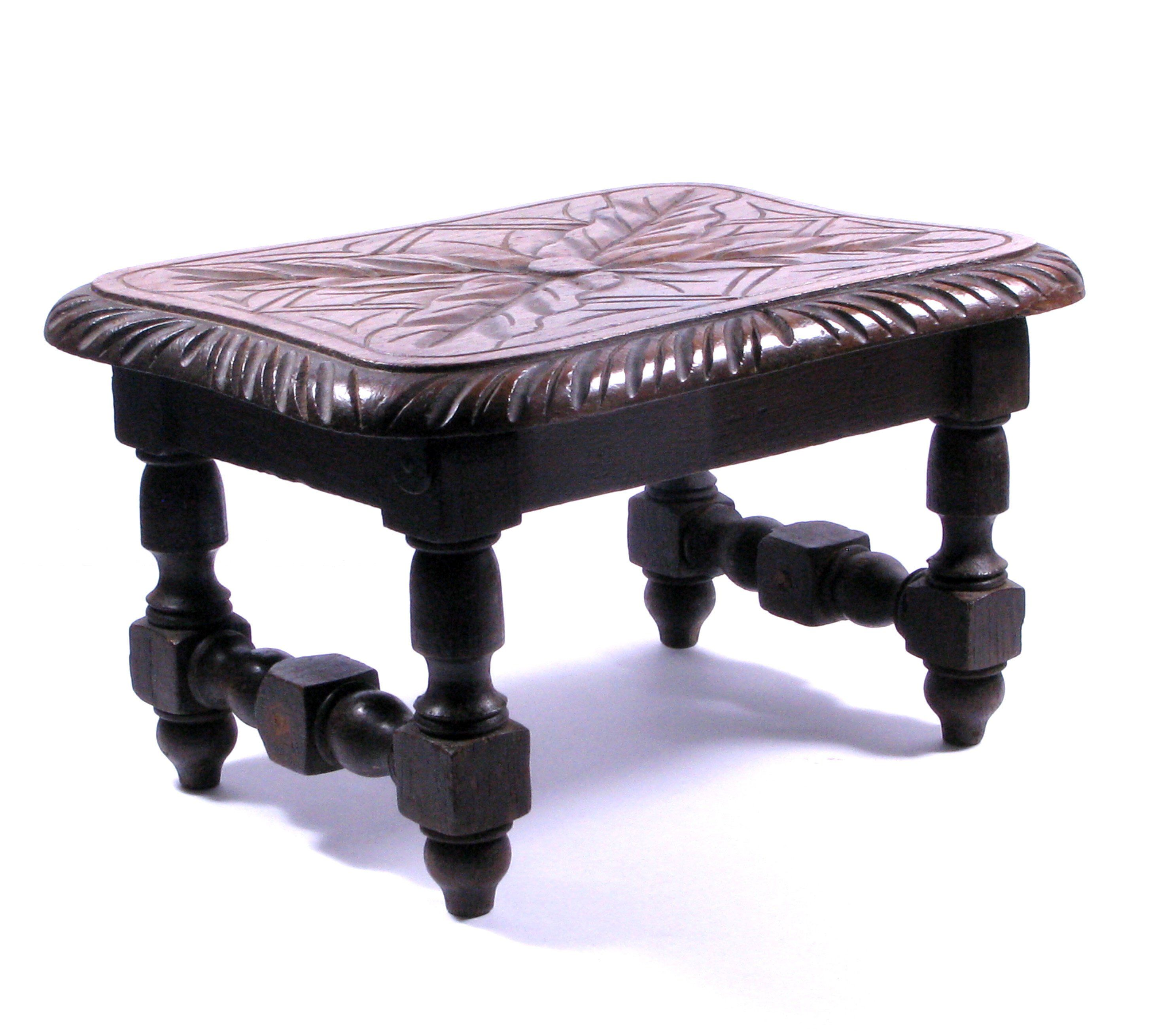 Terrific French Footstool Stool Plant Table Decorated Footstool Squirreltailoven Fun Painted Chair Ideas Images Squirreltailovenorg