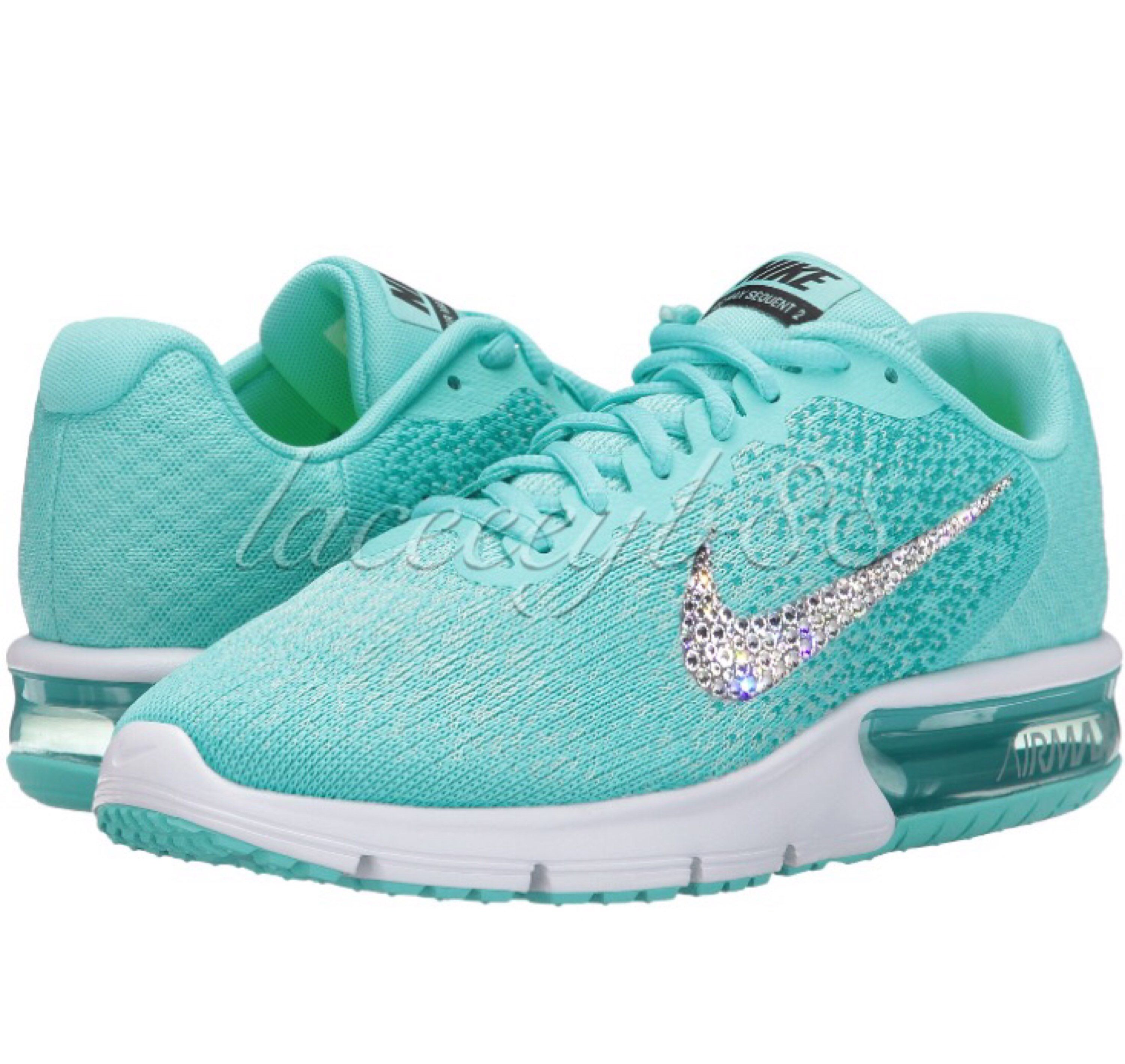 aa024b96af91c Pin by Lacey Blumberg on Letters N Lace | Bling nike shoes, Sneakers ...
