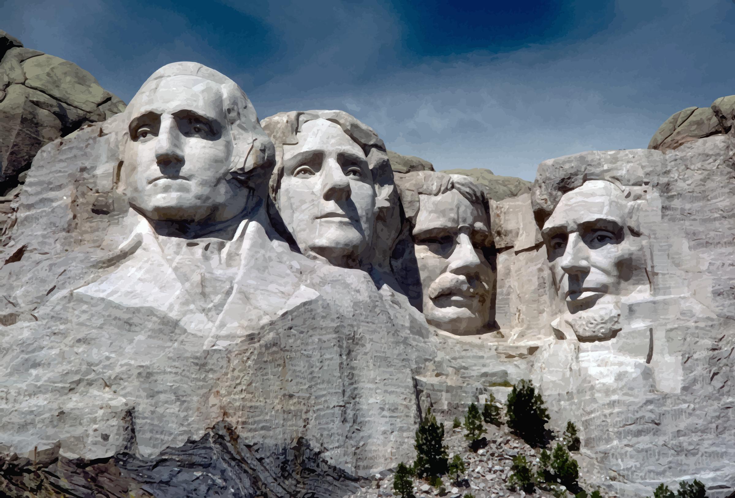 Mount Rushmore National Memorial American Landmarks Mount Rushmore South Dakota Mount Rushmore