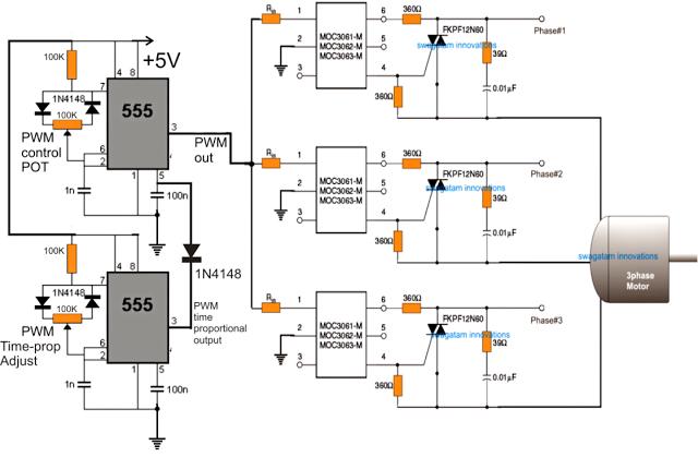 ac motor speed control circuit