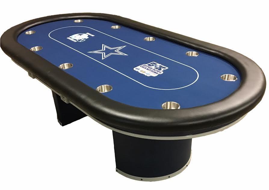 Dallas Cowboys Custom Poker Table Poker Table Custom Poker Tables Poker