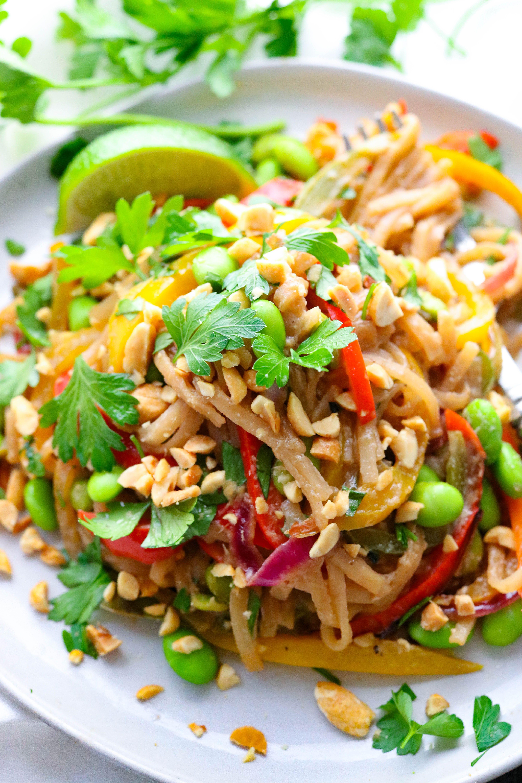 Easy vegetarian pad thai recipe vegetarian pad thai