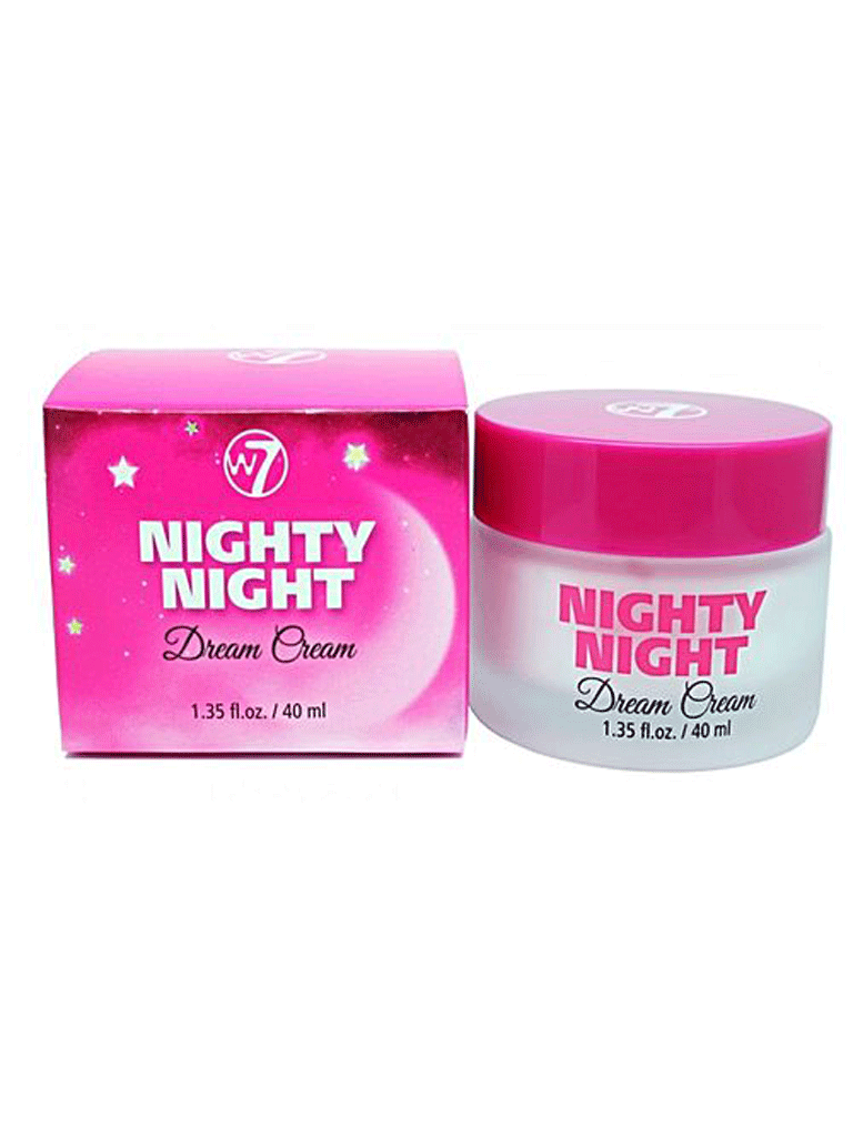 W7 Nighty Night Dream Moisturising Night Cream W7 makeup