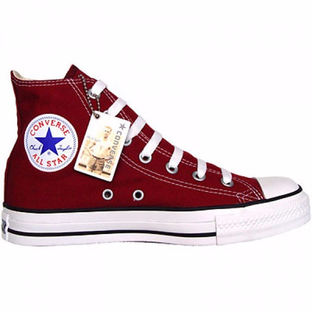 62175d786d55 CONVERSE ALL STAR CHUCKS SCHUHE M9613 EU  39 UK  6 WEINROT MAROON BORDEAUX  HI
