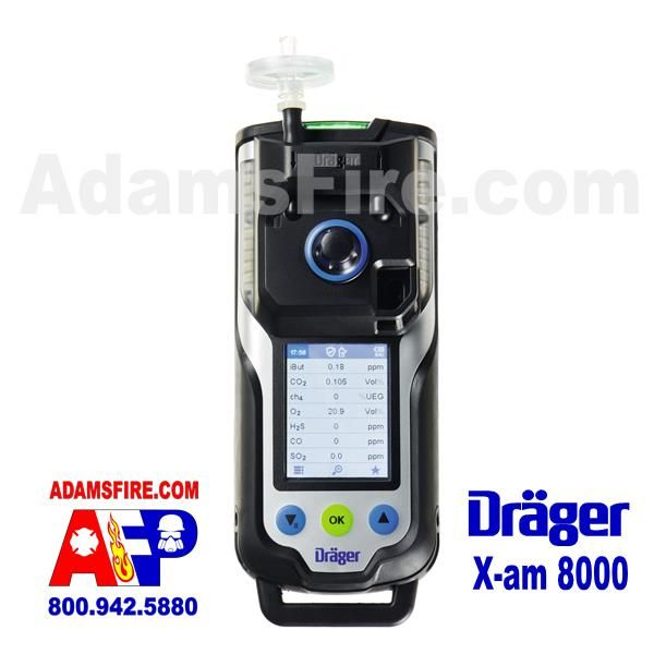 Draeger Drager X am 8000 7 gas sensors