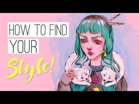 How To Find Your Style And Be More Creative Drawing Timelapse Youtube Finding Yourself Drawings Art Nouveau Design Pattern