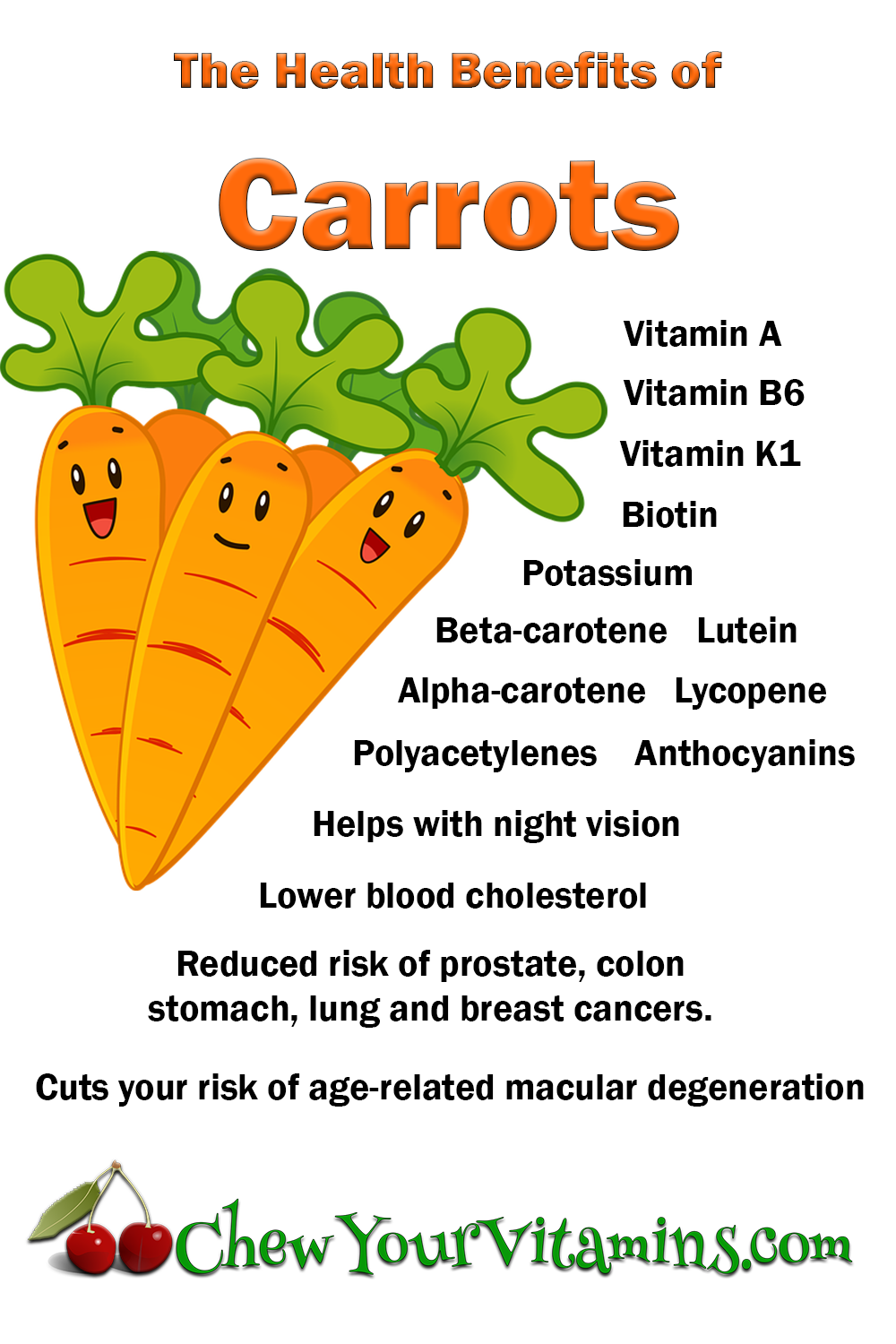 Carrot Health Benefits – Six Reasons Why You Simply Cannot ... |Potato Health Benefits Carrots