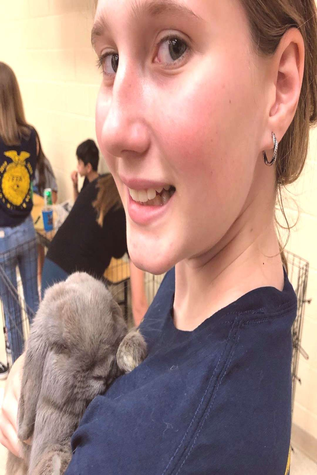 Wilson went to Steam Night  FFA Show Team can find Middle school and more on ou