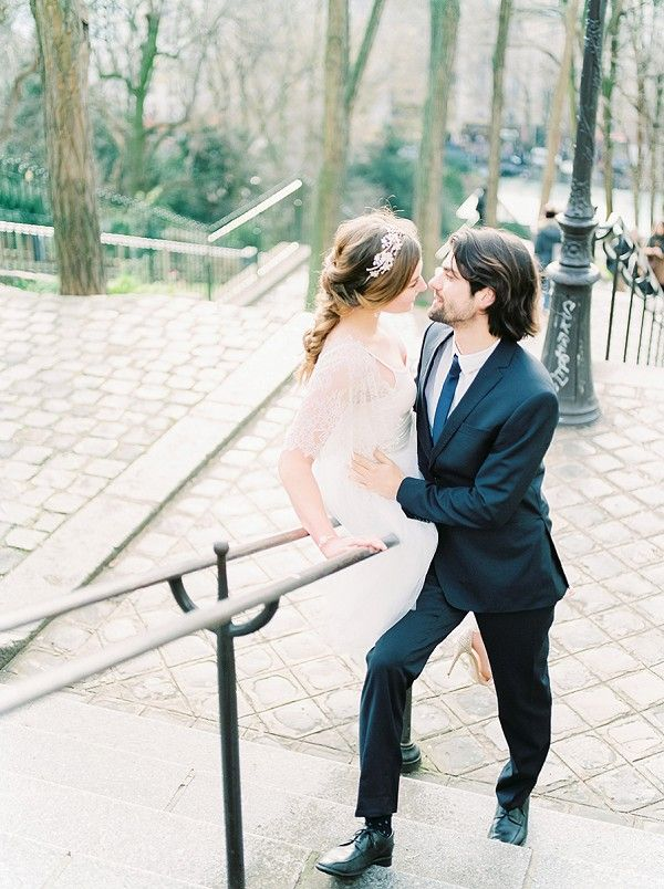 Wedding Day Elegance In Paris | Image by Anouschka Rokebrand Photography