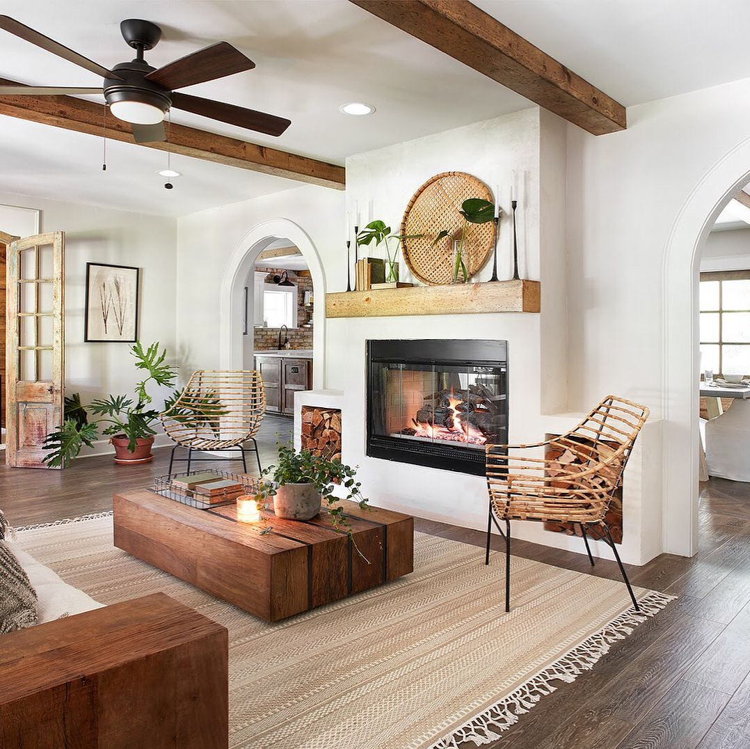 "Hgtv Home Design Ideas: Grady Reclaimed Peroba Wood Slab Coffee Table 53"""