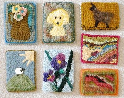 Atc Swap At Sauder Village Red Jack Rugs For A Dollhouse Or Just Collectible