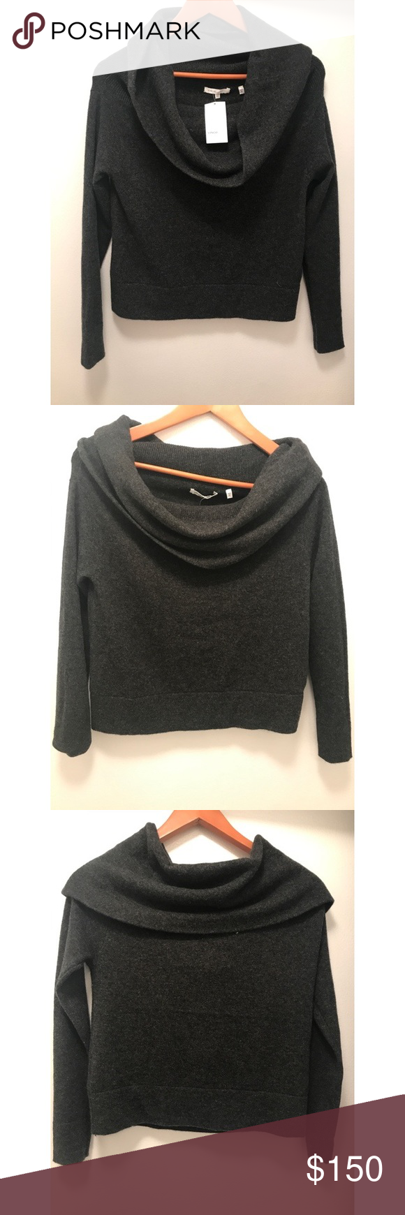 NWT Vince Sweater | Winter season, Cowl neck and Cashmere