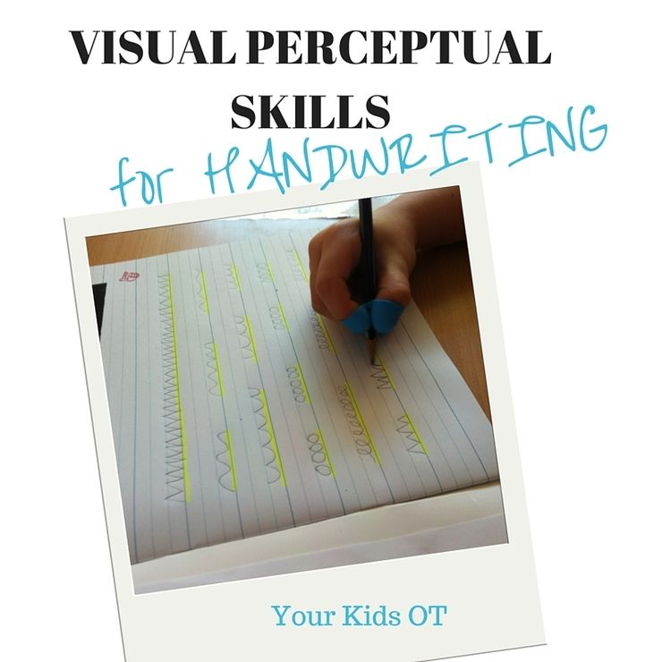 Visual Perceptual Skills Required For Handwriting Writing Improve Your Handwriting Handwriting Books