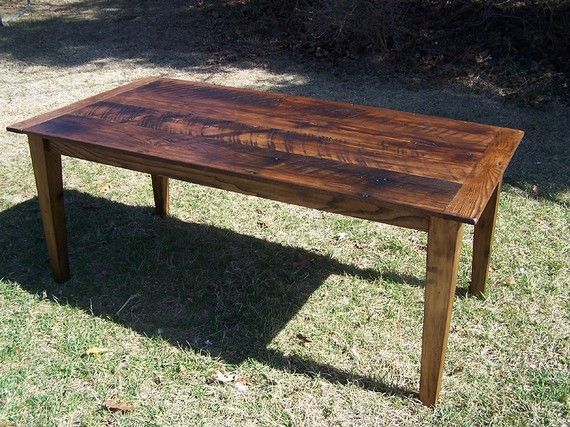 wormy chestnut farm table with extension for the home wormywormy chestnut farm table with extension by barnwoodfurniture, $1645 00