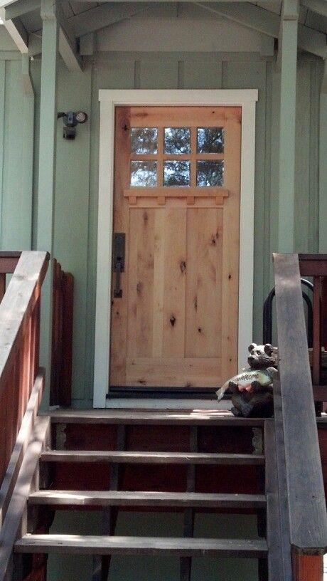Doors Design: Perfect Cabin Front Door