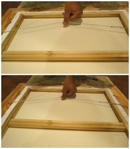 How to Frame a Painting | Framing canvas, Canvases and Methods
