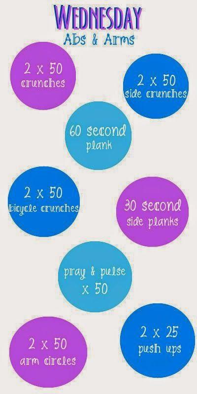 My Best Badi Weekly Workout Plan I workout Pinterest - weekly workout plan