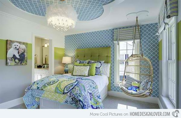 blue and green bedroom. 15 killer blue and lime green bedroom design ideas o