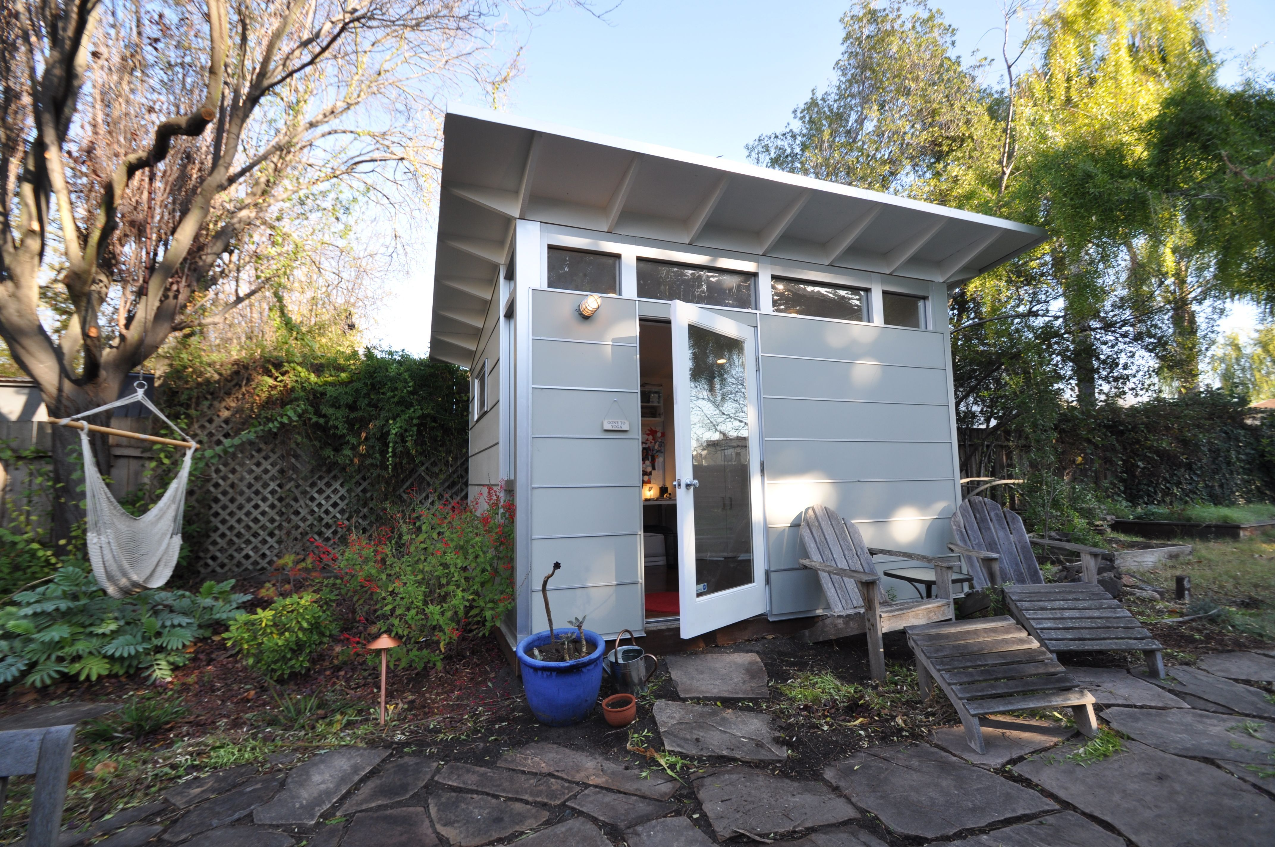 wwwstudioshedcom Modern shed and home office from Studio Shed