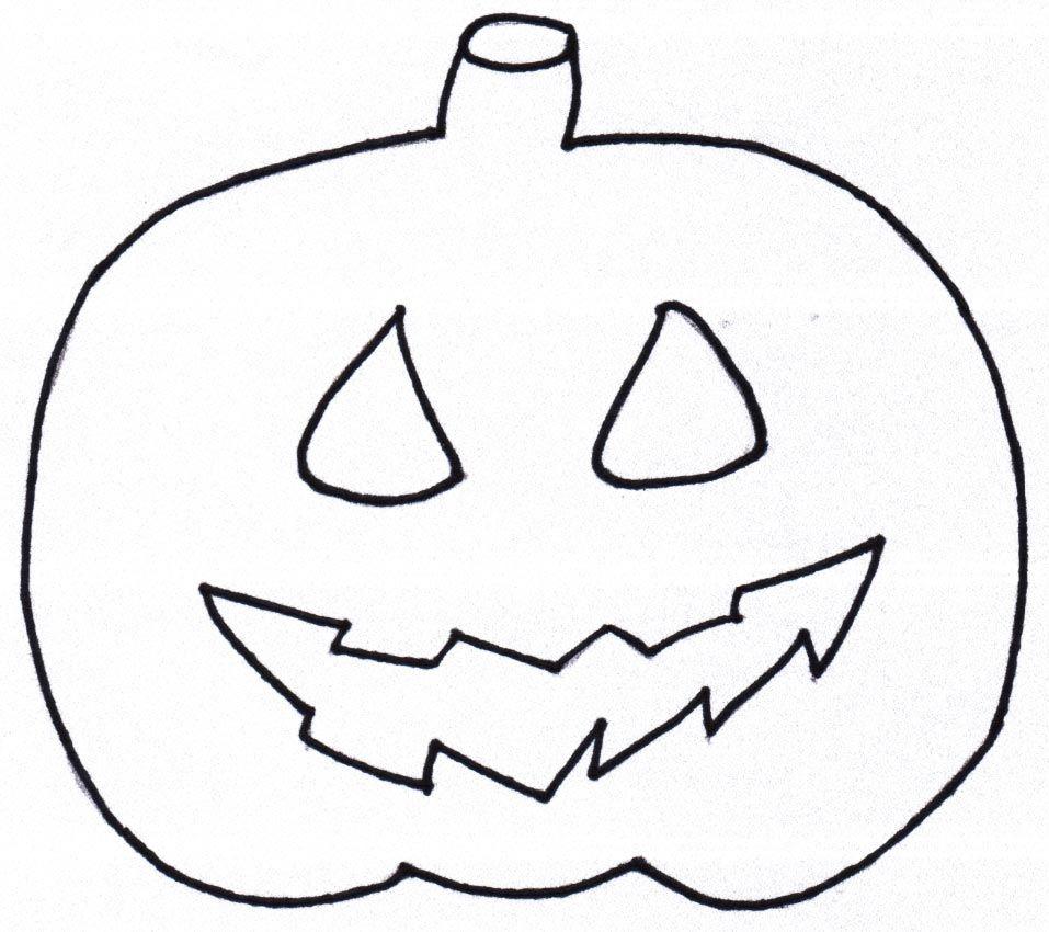 Vorlage zum Drucken Kürbis Xobbu Malvorlage #halloween #