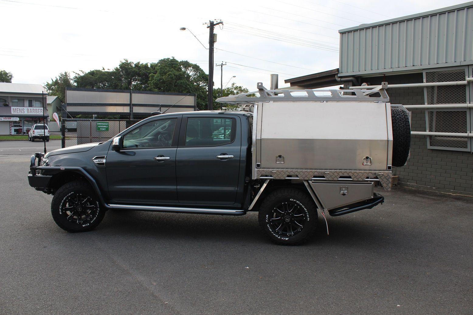 Ford Ranger Aluminium Canopy Ute Trays Toyota Hilux Custom Ford Ranger