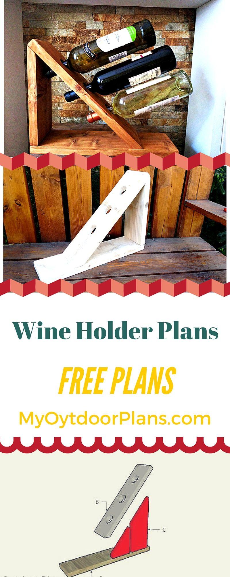 Pallet wine rack plans woodworking projects diy wine