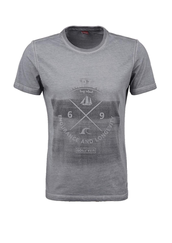 Schmales T Shirt Mit Print Kaufen S Oliver Shop Shirts T Shirt S Oliver