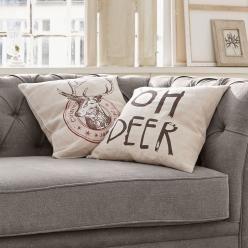 Kissenhülle 2er-Set Oh Deer