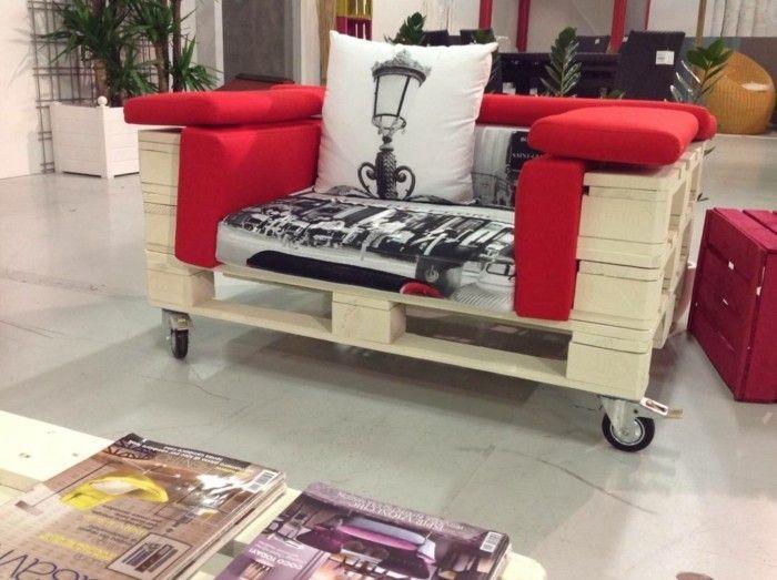 europaletten wohnideen sofa selber bauen Palettenmöbel - wohnideen zum selber bauen