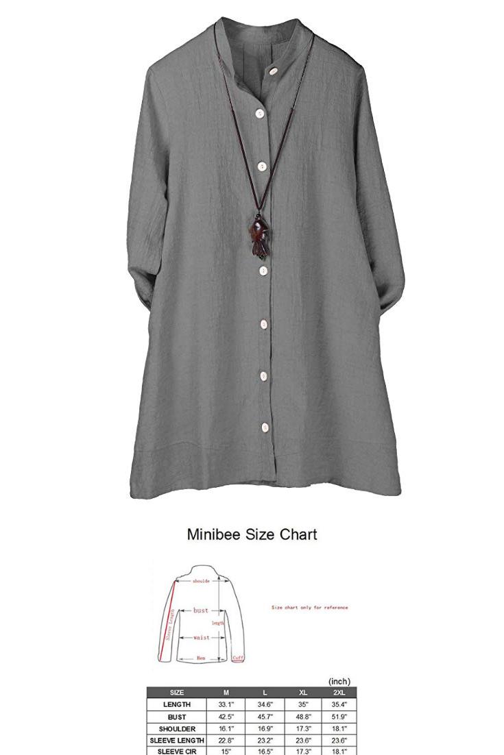 3cdea5b1b24ea8 Minibee Women s Button Down Jacket Long Sleeve Jacquard Blouses  Cardigan