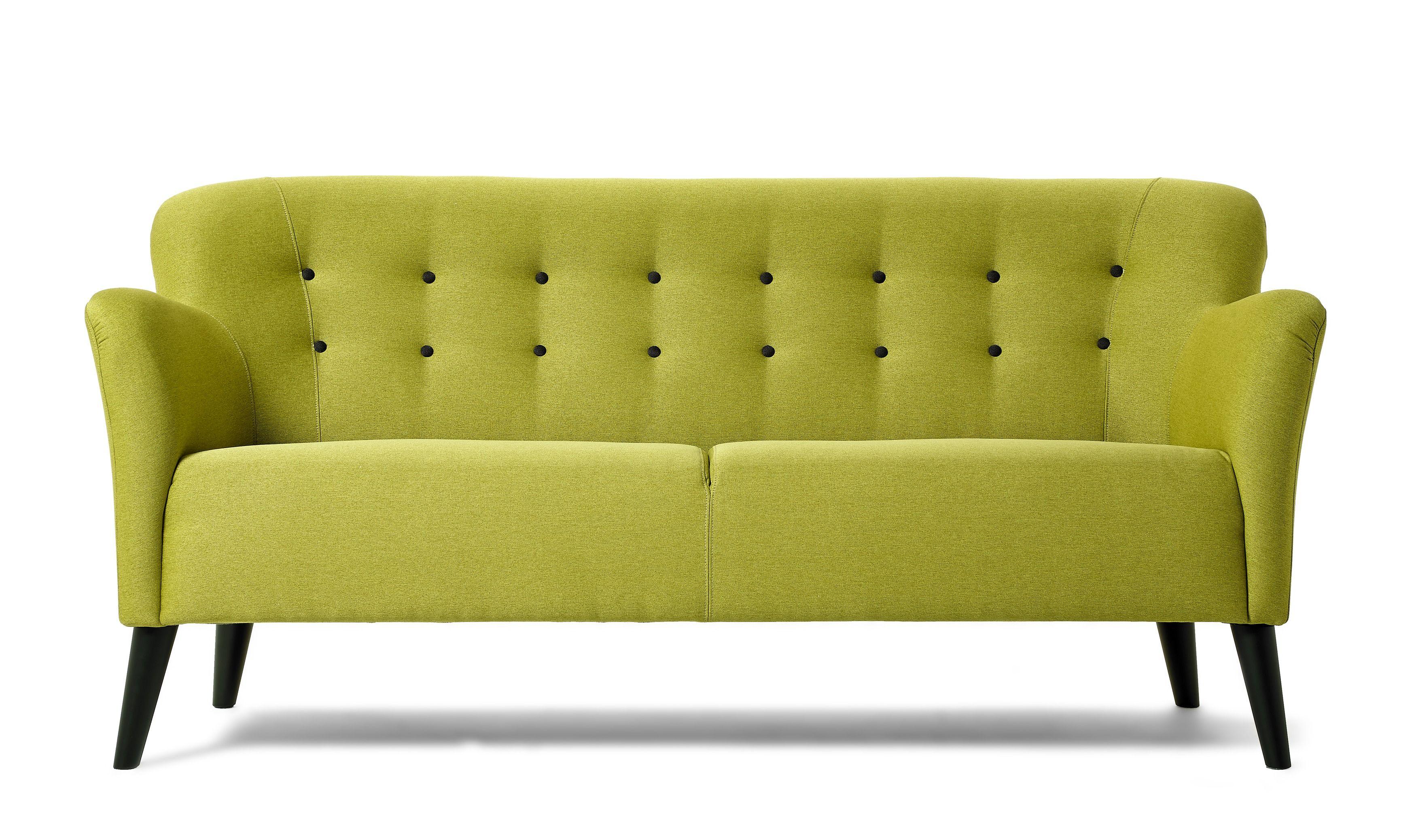 Boggie är en härlig sitta fint soffa i retrostil. det är knapparna ...