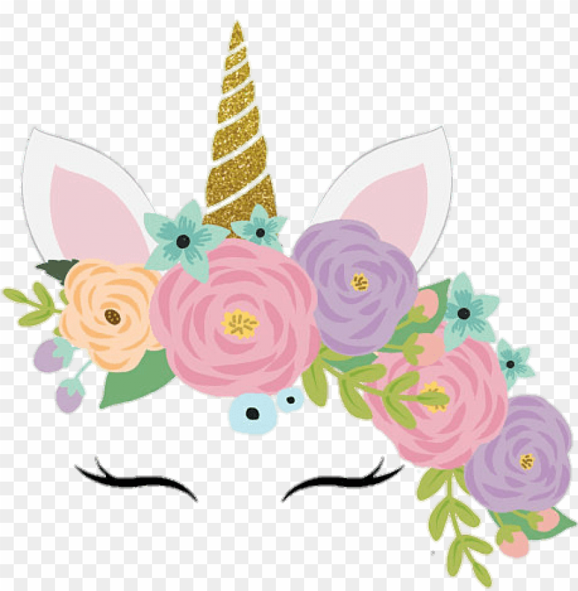 Unicorn Unicornio Cute Colorful Flowers Face Pastel You Are Invited Unicor Png Image With Transparent Background Png Free Png Images Unicorn Images Easy Halloween Face Painting Unicorn Crafts